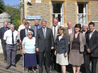 Andrew Lansley MP, Shadow Secretary of State for Health, visits Malvern Hospital