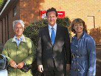 David Cameron visits Upton-upon-Severn