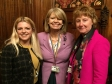 At the Houses of Parliament (l-r) Councillor Hannah Campbell, Harriett Baldwin MP and Jane Kemp