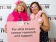 Wear it Pink: Harriett Baldwin MP with Breast Cancer Now supporter Geraldine Curtis
