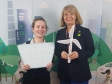 Harriett Baldwin MP celebrates local success at the Climate Coalition awards