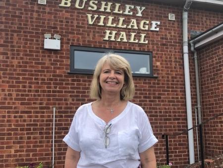 Harriett Baldwin MP at Bushley