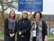 Helping promote apprenticeship programmes at the Chase School