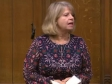 Harriett Baldwin MP speaking in the House of Commons, Jan 2020, Queen's Speech Debate