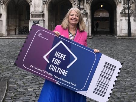 Harriett Baldwin MP supports culture recovery plan