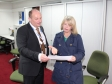 Harriett Baldwin MP receives a briefing on the local Universal Credit Rollout