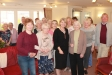 Harriett Baldwin MP and Councillor David Watkins (far right) meeting with local residents at Elgar Lodge in Malvern Link