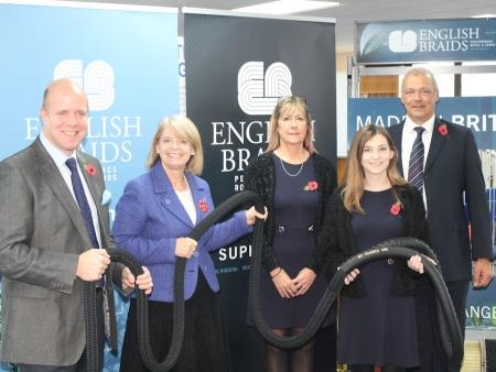 English Braids: Henry Earp, Harriett Baldwin MP, Lauren Bayliss, Tina Aston, Justin Jones