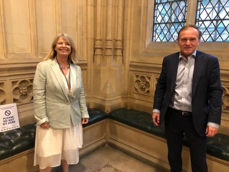 Harriett Baldwin MP meets Environment Secretary George Eustice