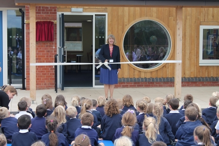 Opening of extension to Leigh and Bransford Primary School.