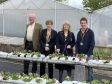 Harriett Baldwin visits the growing Link Nurseries in Powick