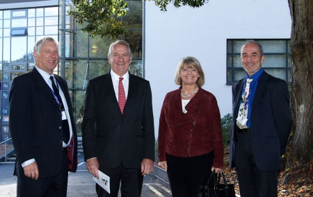 Harriett Baldwin MP opens new exhibition to celebrate crucial wartime role of Scientists in Malvern
