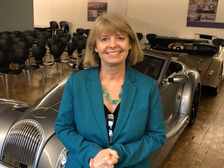 Harriett Baldwin met with Morgan Motors' boss Steve Morris
