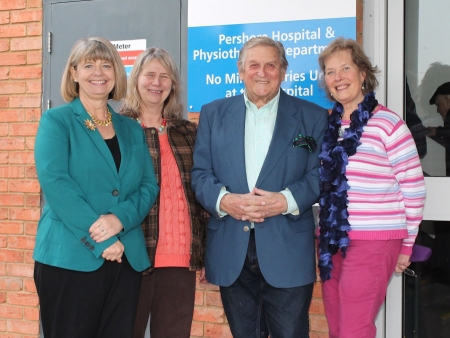 Harriett Baldwin MP visits Pershore Community Hospital