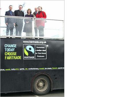 Pershore Fairtrade Bus