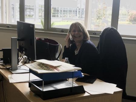 Harriett Baldwin offers advice at a Phone Surgery