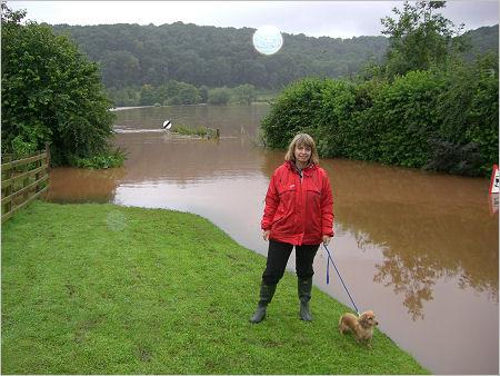 Flooding in Shelsey Beauchamp