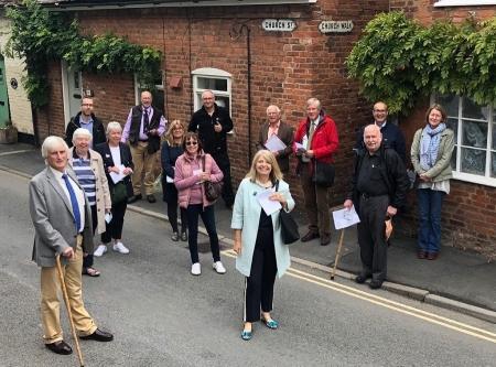 Tenbury flood planning walking tour