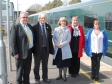 Vale Transport Group meets with Harriett Baldwin MP at Pershore's train station