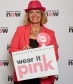 Harriett Baldwin goes pink to raise awareness for Wear It Pink on October 21