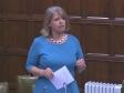 Harriett Baldwin MP speaking in Westminster Hall, Feb 2020