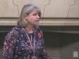 Harriett Baldwin MP speaking in the Westminster Hall, October 2019