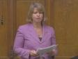 Harriett makes her maiden speech in the House of Commons