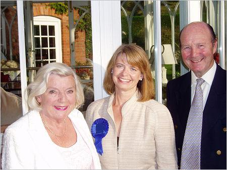 Tenbury and Teme Valley Conservatives greet Harriett Baldwin
