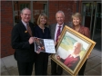 Sir Michael Spicer MP and Harriett Baldwin donate money to St Richard's Hospice instead of sending Christmas cards